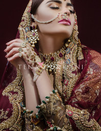 "Ready, set, shoot!: Tena Durrani's Bridal collection ""A Rouge Affair"""