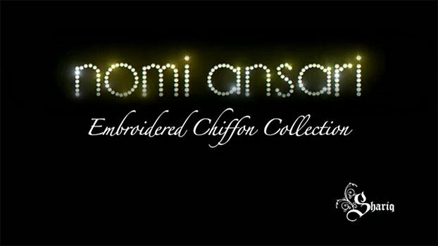 Nomi Ansari for Shariq Textiles Limited Edition Chiffon Collection