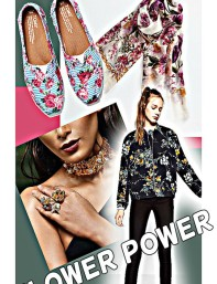 top ten anything! Flower Power- 10 ways to sport the floral trend in style!