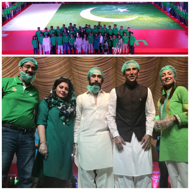 Peek Freans Sooper's Attempt to Break the World Record to Bring Glory to Pakistan on its 70th Independence Day